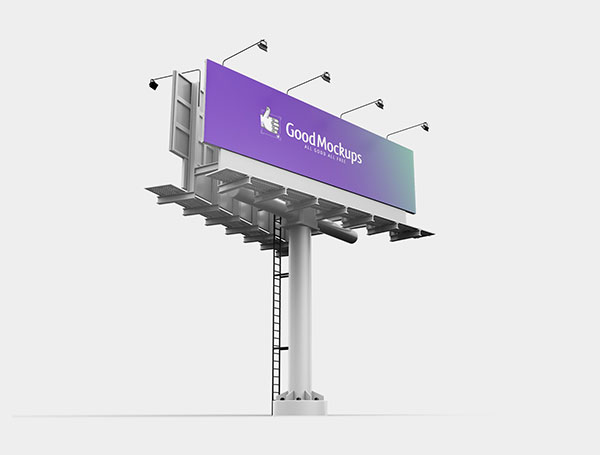 Free-Outdoor-Advertising-3D-Billboard-Mockup-PSD