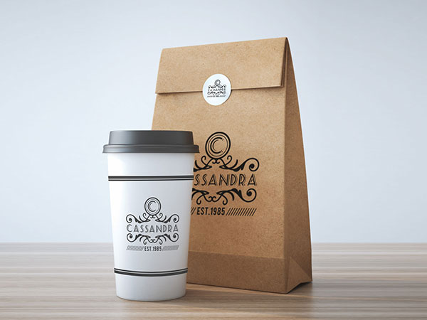 Free-Take-Away-Coffee-Cup-&-Burger-Packaging-Mockup-PSD