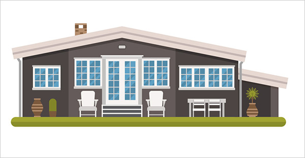 Modern-Cottage-in-a-Scandinavian-Style-in-Adobe-Illustrator