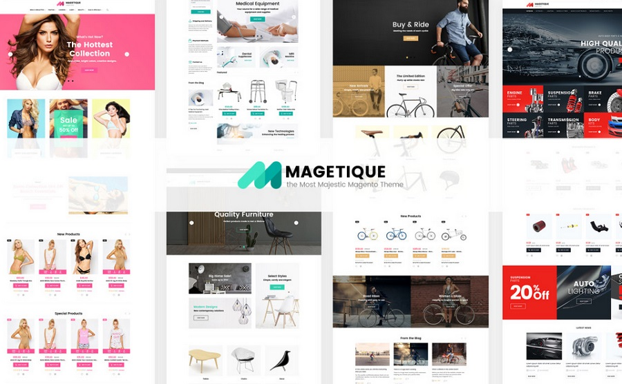 Magetique Magento Theme