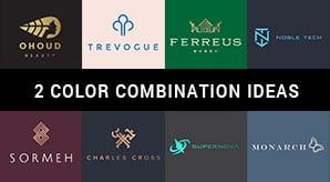 10 Best 2 Color Combination Ideas for Logo Design