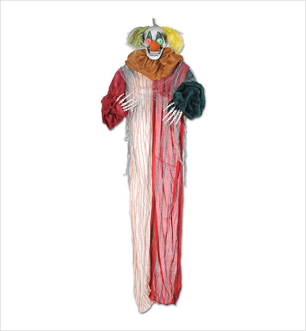 Beistle-Creepy-Clown-Creepy-Creature,-6-Feet-6-Inch