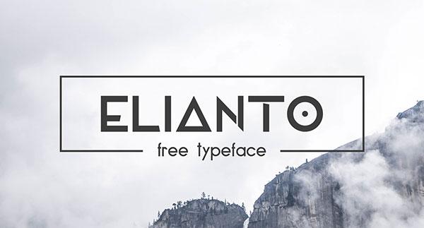 Elianto-Free-Sans-Serif-Font-Download