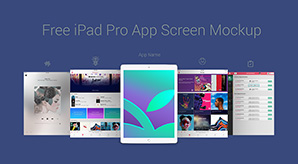 Free-Apple-iPad-Pro-App-Screen-Mockup-PSD