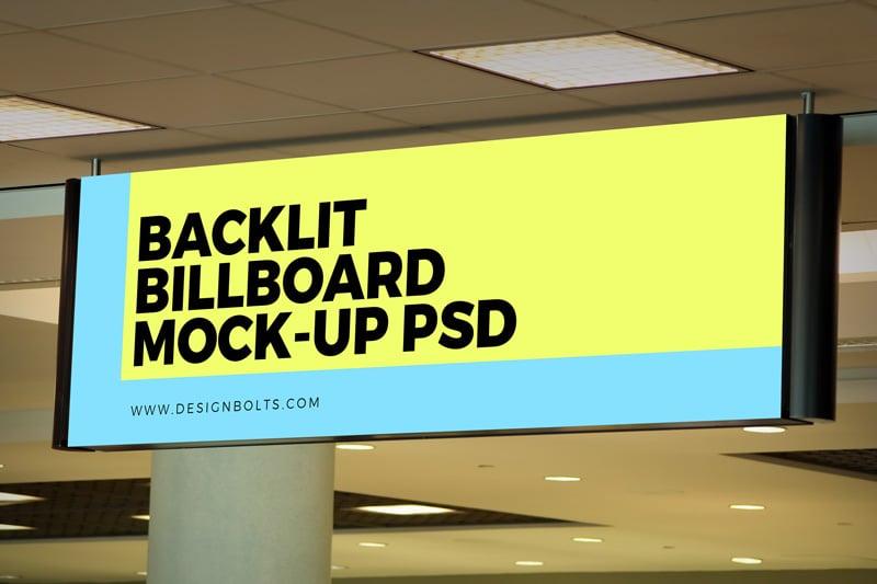 Free-Indoor-Advertising-Backlit-Basement-Billboard-Mockup-PSD