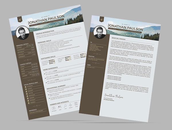 Free-Modern-Resume-CV-Design-Template-Vector-Ai-