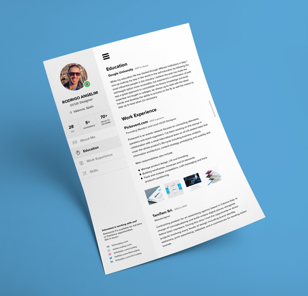 Free-Modern-Resume-Template-for-UI-UX-Designer