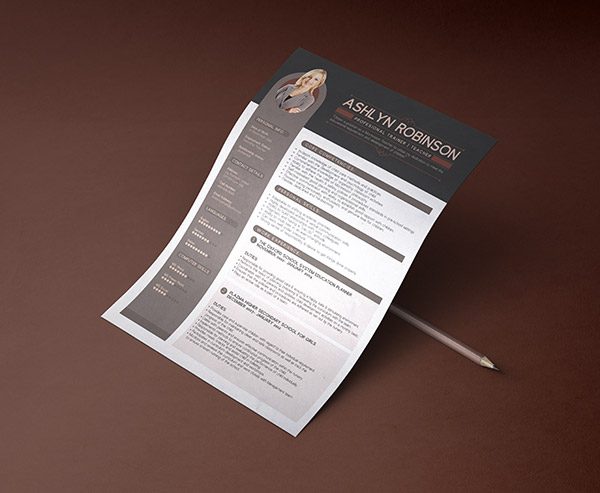 Free-Premium-Professional-Resume-(CV)-Design-Template-with-Best-Resume-Format