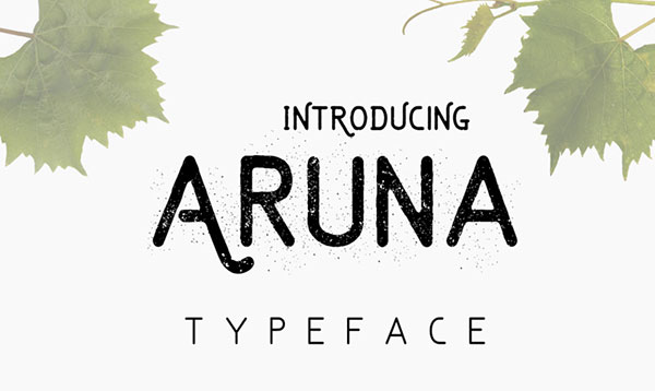 Freebie-of-the-Week-The-Free-Aruna-Typeface