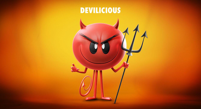The Emoji Movie Devilicious Character Wallpaper HD