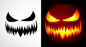 10-Free-Printable-Scary-Halloween-Pumpkin-Carving-Patterns-Stencils-&-Ideas-2017