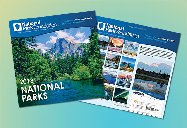 2018-National-Park-Foundation-Wall-Calendar
