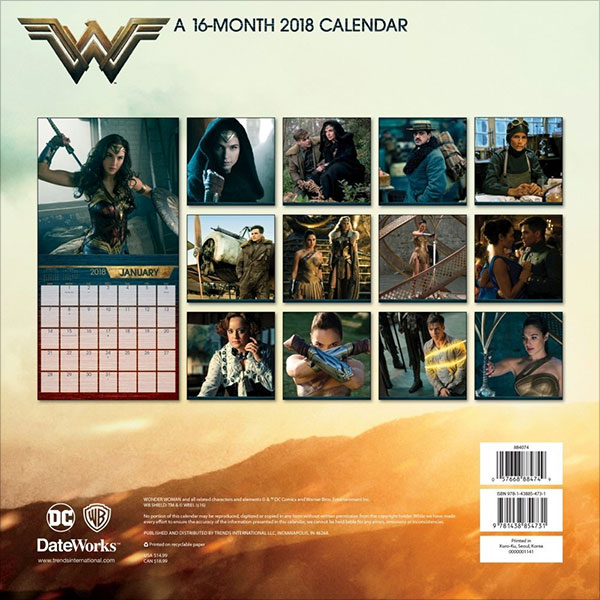 2018-Wonder-Woman-Wall-Calendar-2