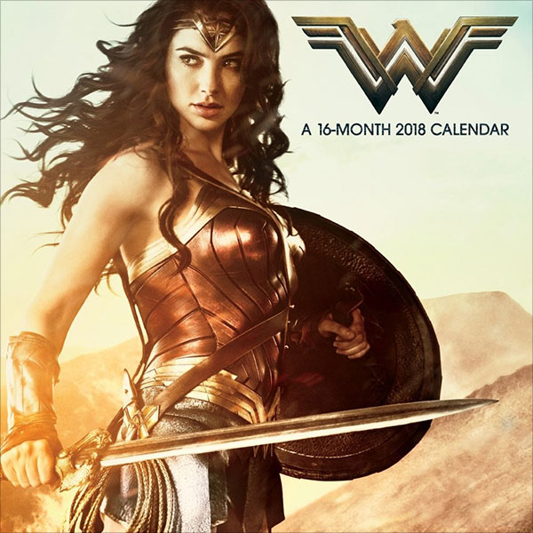 2018-Wonder-Woman-Wall-Calendar