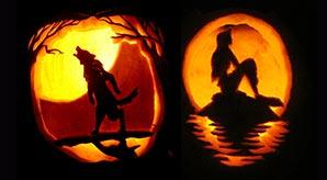 GLENNA: Adult pumpkin carving ideas