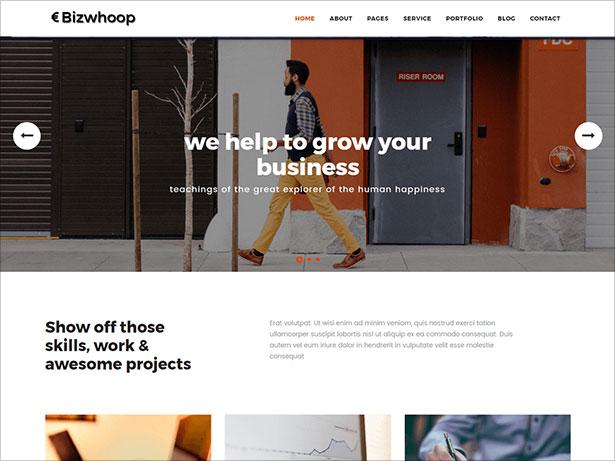 Bizwhoop-powerful-bootstrap-Woocommerce-WordPress-theme-2017