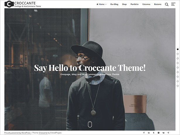 Croccante-simple-and-fresh-multipurpose-WordPress-Theme-2017