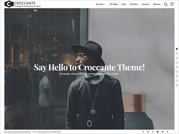 Croccante-simple-and-fresh-multipurpose-WordPress-Theme