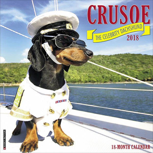 Crusoe-the-Celebrity-Dachshund-2018-Wall-Calendar-(Dog-Breed-Calendar)