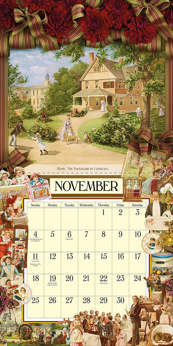 Cynthia-Hart's-Victoriana-Wall-Calendar-2018-4