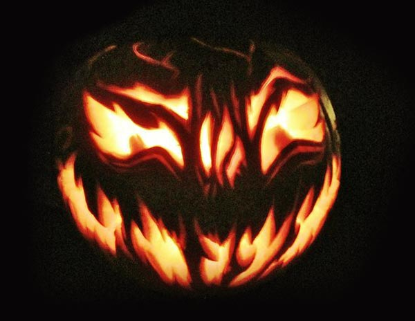 Free scary yet creative halloween pumpkin carving ideas