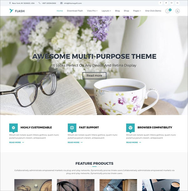 Flash-free-responsive-multipurpose-WordPress-theme