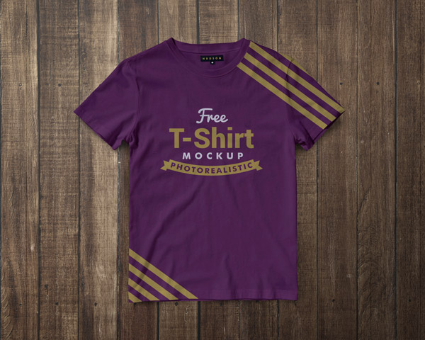 Free-Premium-Regular-Fit-Half-Sleeves-T-shirt-Mockup-PSD-3