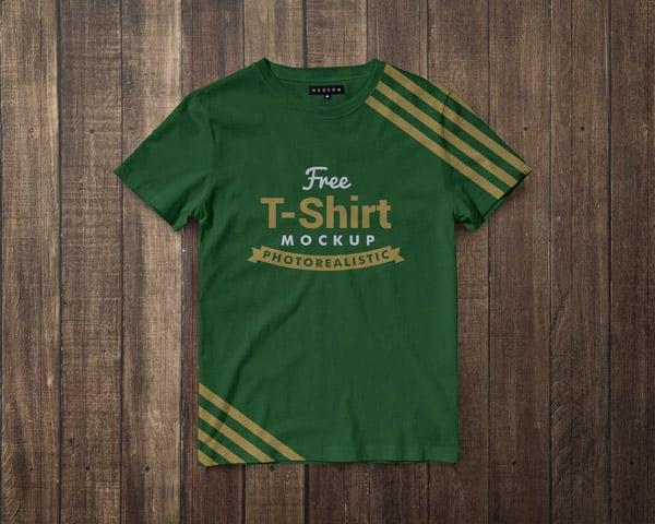 Free-Premium-Regular-Fit-Half-Sleeves-T-shirt-Mockup-PSD-4