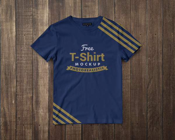 Free-Premium-Regular-Fit-Half-Sleeves-T-shirt-Mockup-PSD-5