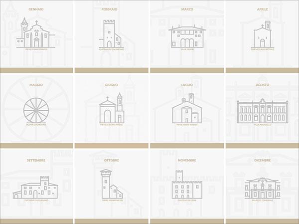 Lineart-Calendar-2018-Calendar-Design-2