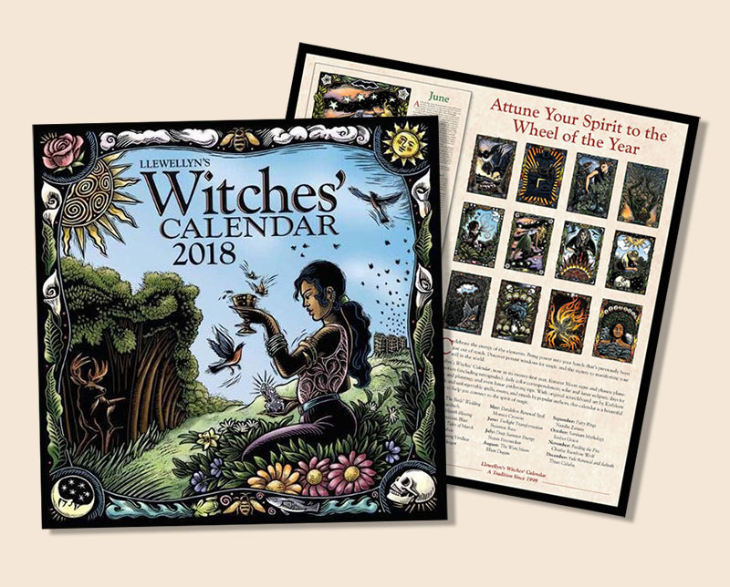 Llewellyn's-Witches-Buy-Wall-Calendar-2018