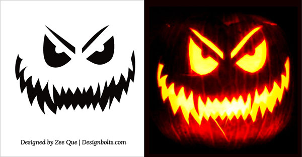 Pumpkin-Carving-Stencils-patterns-ideas-2017-(8)