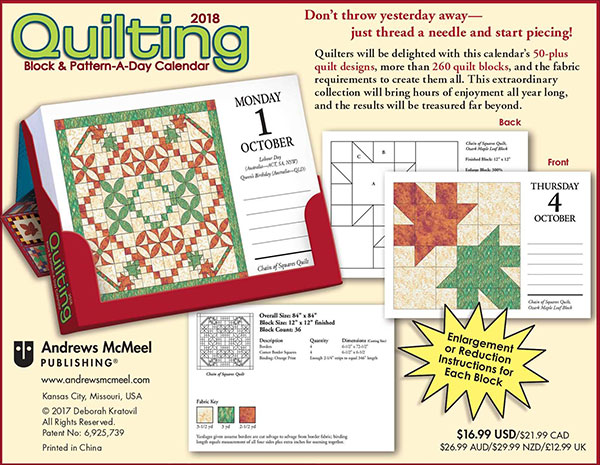 Quilting-Block-&-Pattern-a-Day-2018-Calendar-2