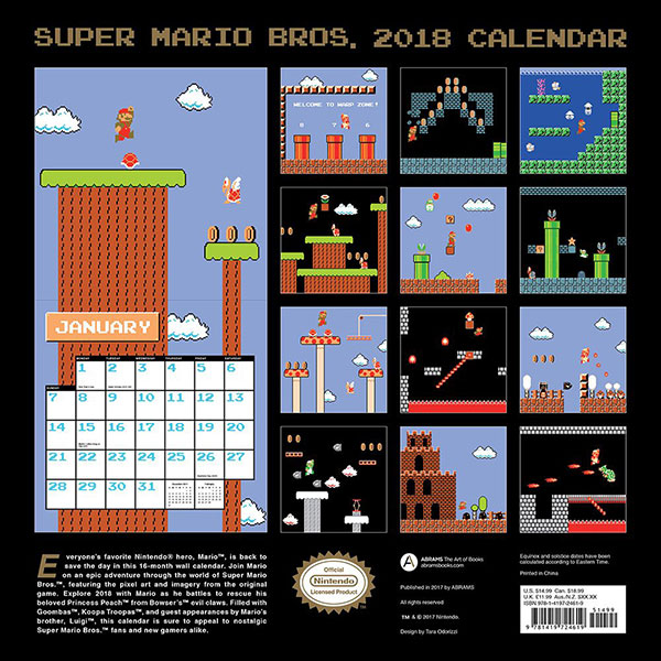 Super-Mario-Bros-2018-Wall-Calendar-2