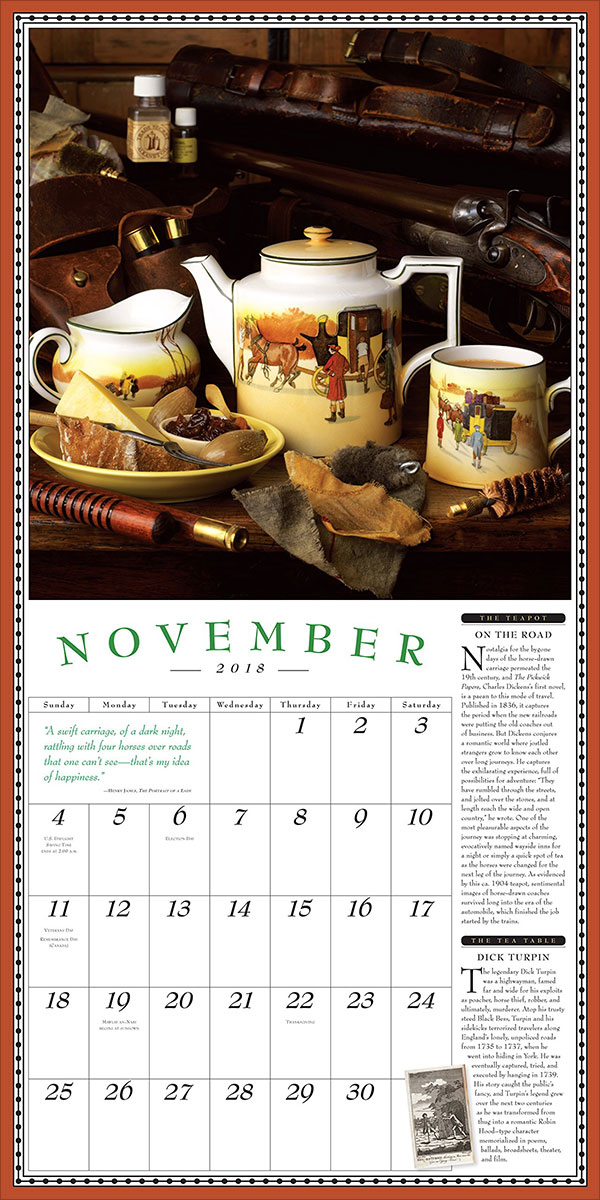 The-Collectible-Teapot-&-Tea-Wall-Calendar-2018-3