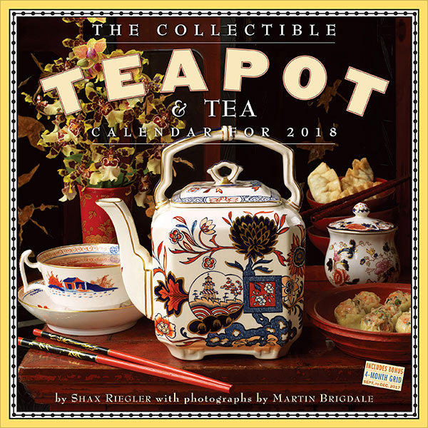 The-Collectible-Teapot-&-Tea-Wall-Calendar-2018