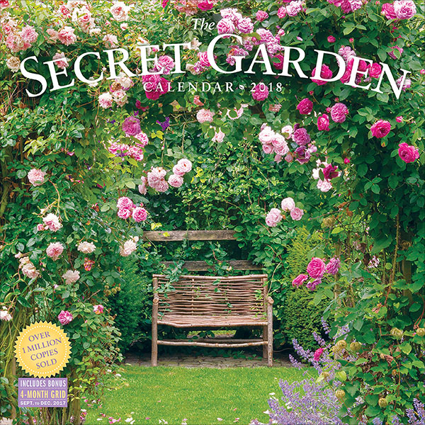 The-Secret-Garden-Wall-Calendar-2018
