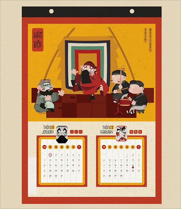 Vietnam-calendar-Design-2018