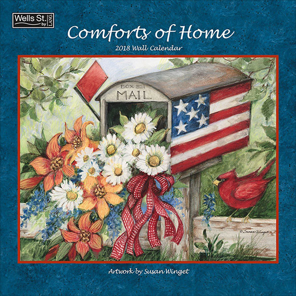 Wells-Street-by-LANG-2018-Comforts-of-Home-Wall-Calendar