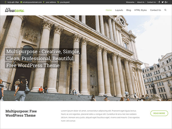 Wowsome-Multipurpose-Creative,-Simple,-Clean,-Professional,-Beautiful-Free-WordPress-Theme.-I