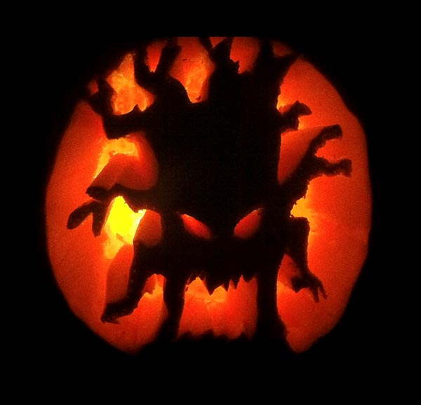 20 Free Scary Yet Creative Halloween Pumpkin Carving Ideas