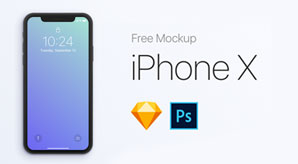 70+-Free-Apple-iPhone-X-Sketch-&-PSD-Mockup-Templates