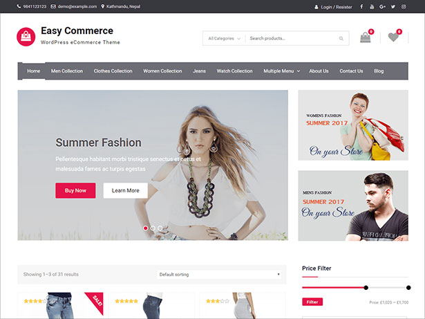 Easy-Commerce-clean-and-well-designed-e-commerce-WordPress-theme-September-2017