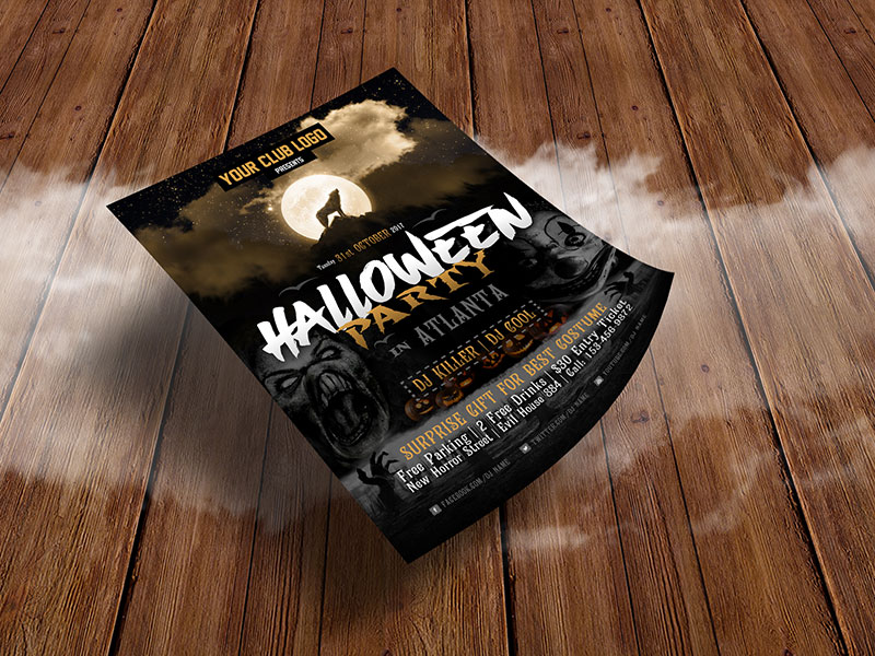 Free-Halloween-Party-Costume-Flyer-Design-Template-2017-4