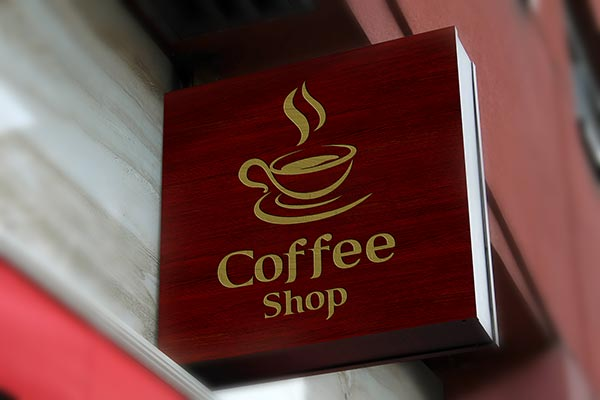 Free-Wall-Mounted-Coffee-Shop-Sign-Board-Mockup-PSD-5