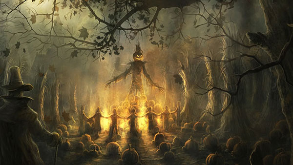 Halloween-Pumpkin-Scary-Wallpaper