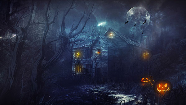 Halloween-Scary-House-Wallpaper