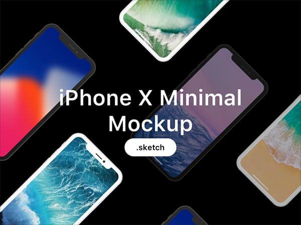 Iphone-X-Minimal-Mockup