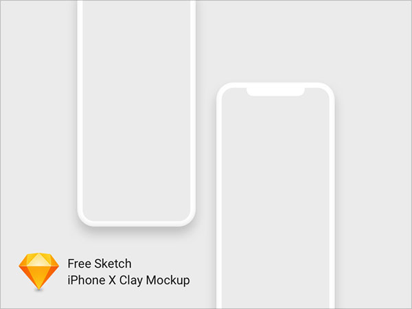 70+ Free Apple iPhone X Sketch & PSD Mockup Templates