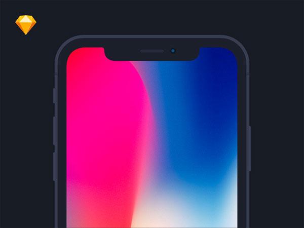 iPhone-X-Flat-Mockup